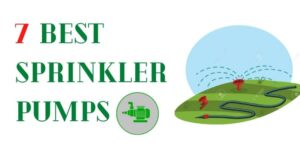 best lawn sprinkler pumps