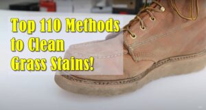 Best Way to Clean Leather Shoes After Cutting Grass